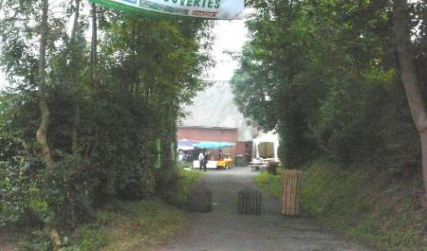 Accueil a la Framboiserie de Burnenville - Malmedy