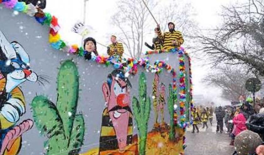 Walk City au carnaval de Malmedy