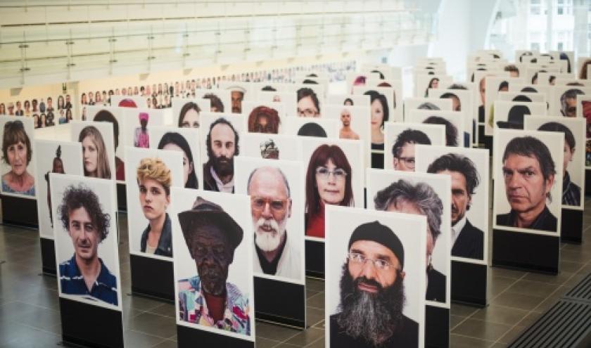 700 visages immortalises par Oliviero Toscani