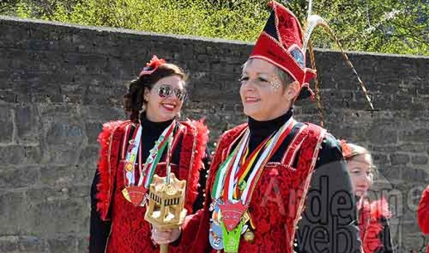 Nathalie Prince carnaval de Hotton,3111