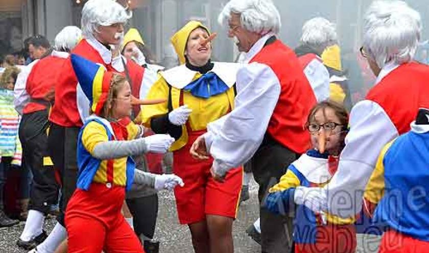 Carnaval de LA Roche en Ardenne - video 01