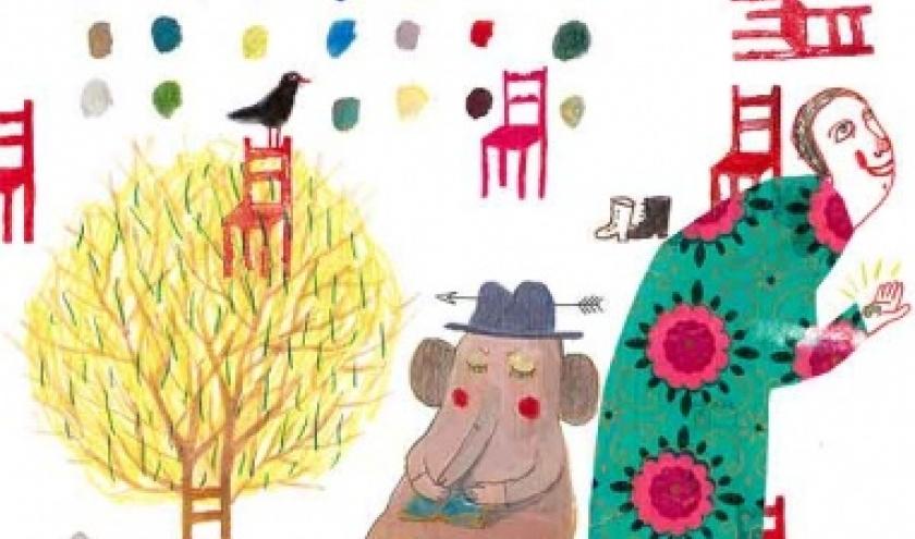 Faire chaise de tout bois - Exposition Anne Herbauts
