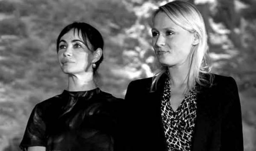 Emmanuelle Beart remise des Prix by Dominique Houcmant