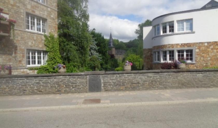Houffalize - Le pont Lanham (apres la guerre)