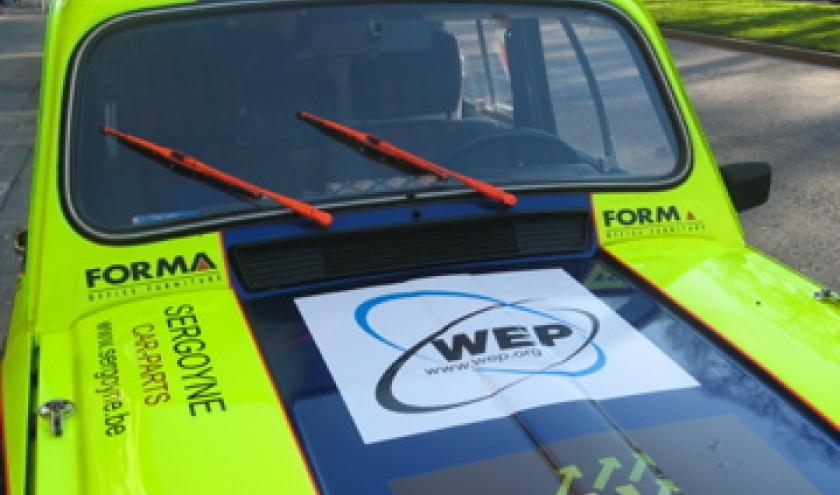 WEP, 4L ,trophy, rally Paris,  Marrakech.