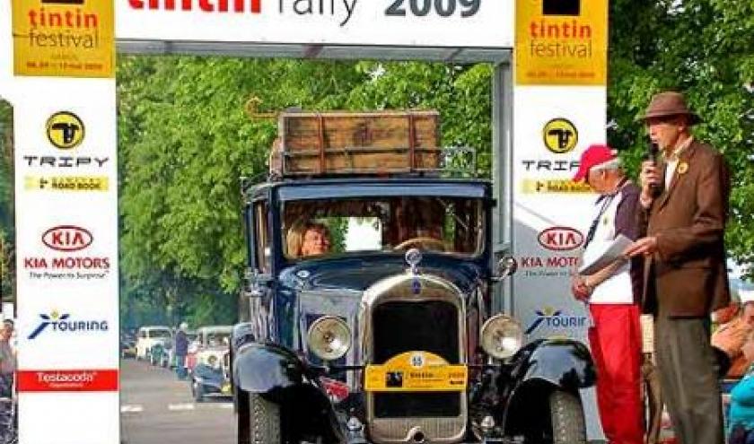 Le Tintin Rally 2009