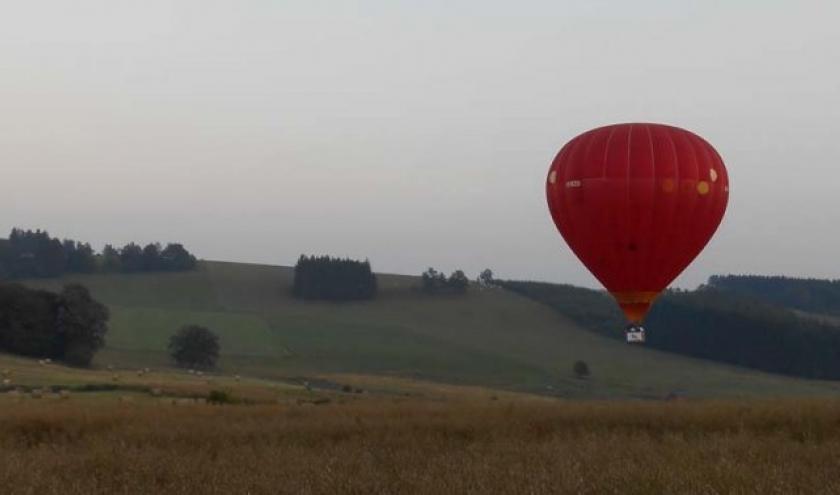 Vol en montgolfiere en Ardenne