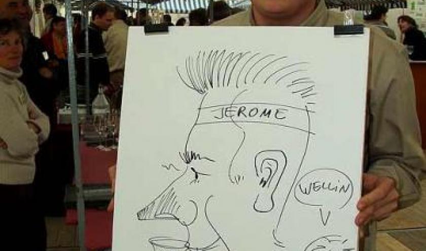 wellin caricature  2748