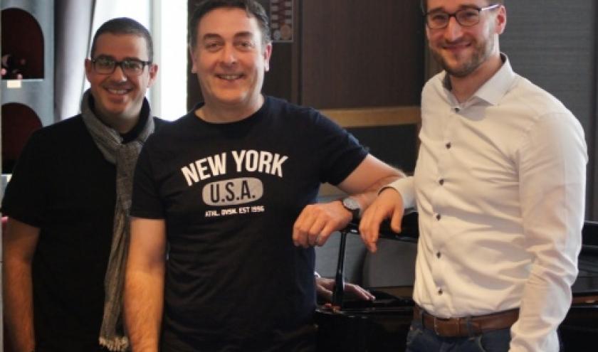 Antoni Sykopoulos, Tony Backes et Daniel Hilligsmann ( Photo : Ismael Couvreur )