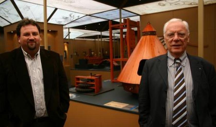 Rene Schyns, Commissaire et Jean-Christophe Hubert, Directeur artistique
