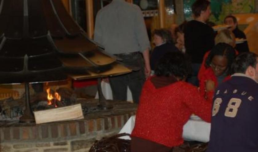 14.02.2010 St Valentin du Coeur a la Taverne - Restaurant du Centre Nature de Botrange