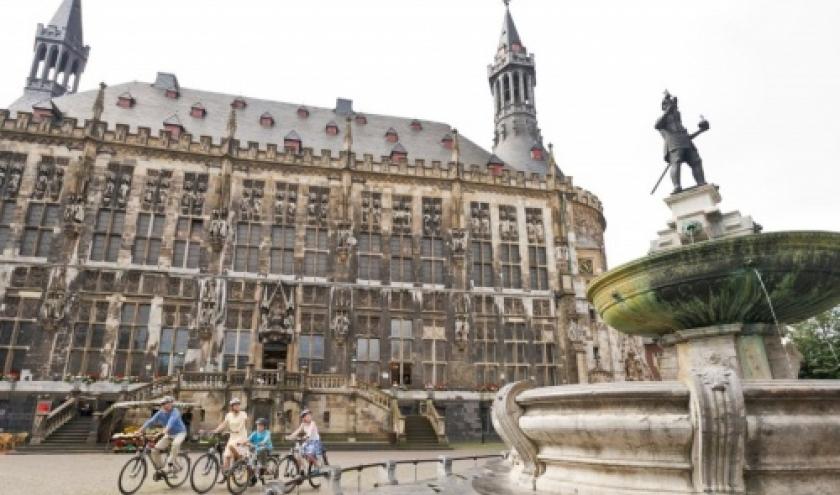 Aachen : Hotel de ville ( Photo : Tourismusagentur Ostbelgien )
