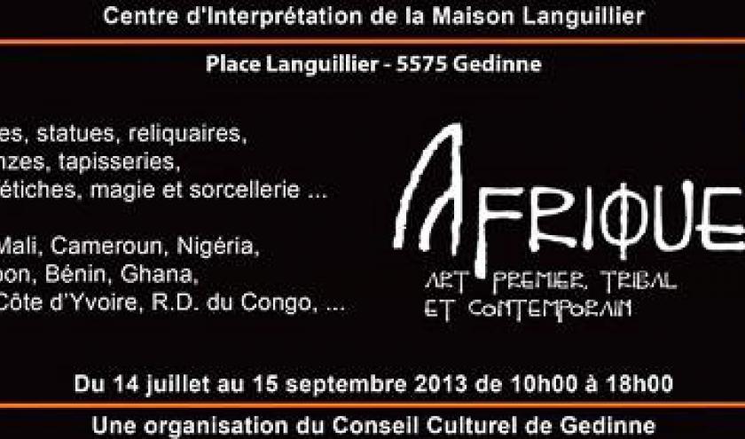 Afrique, son Art premier, tribal et contemporain