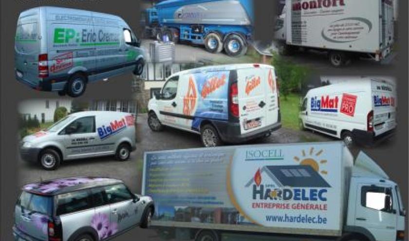 lettrages vehicules