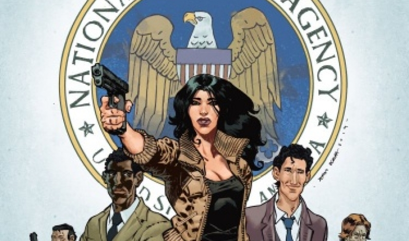 NSA de Bieda et Gloris   Casterman.