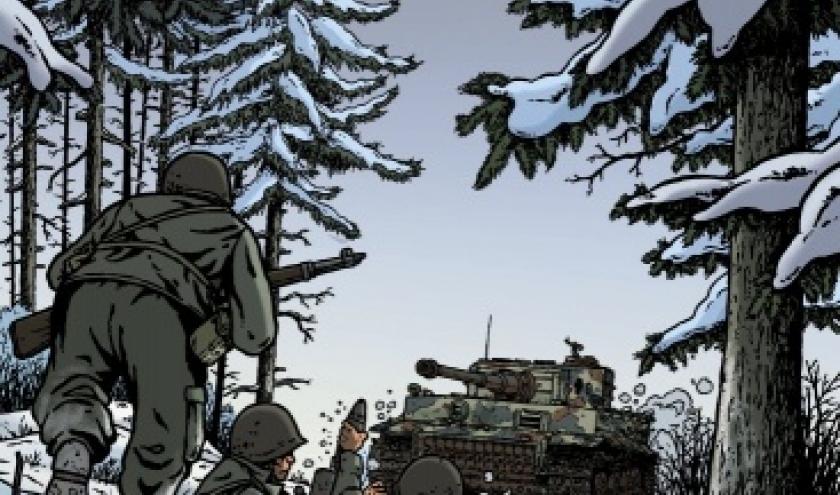 Les Reportages de Lefranc, La Bataille des Ardennes   Casterman.