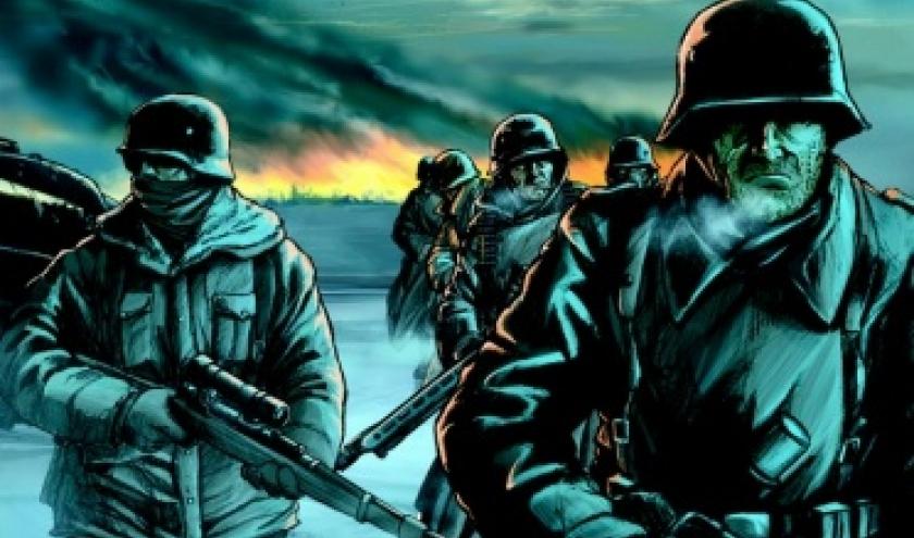 Armee de l'ombre Tome 1, L'Hiver russe de Speltens  Editions Paquet.