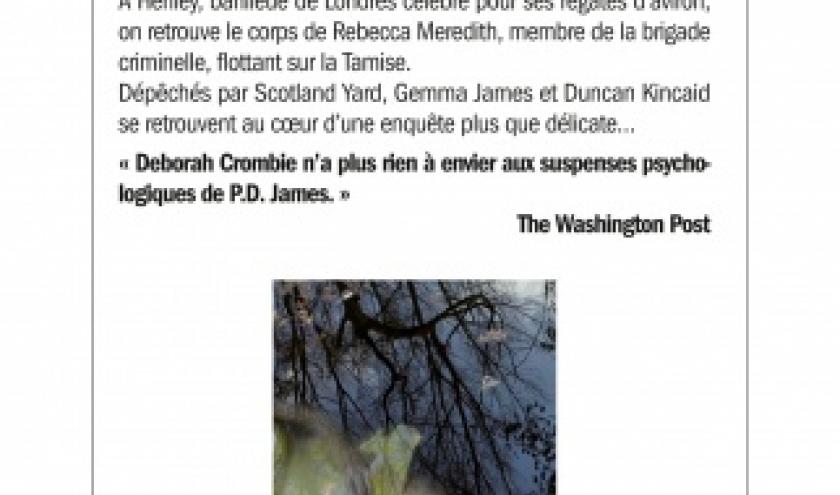 Mort sur la Tamise de Deborah Crombie   Albin Michel.