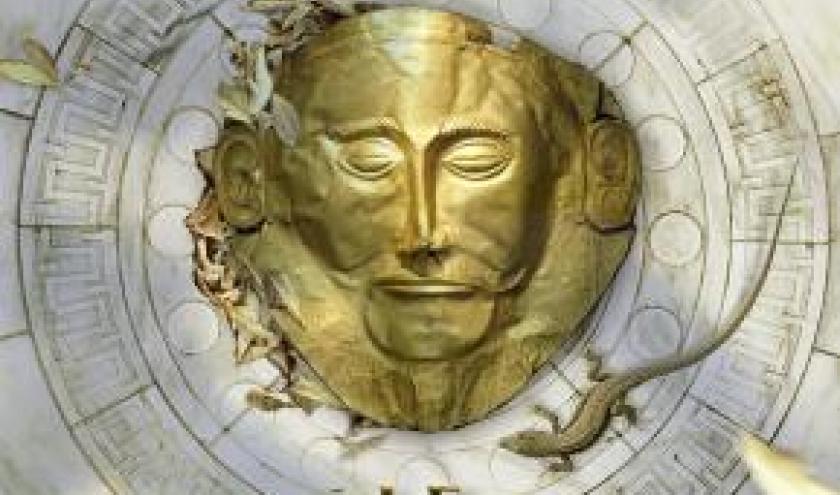 Le Masque de Troie de David Gibbins  Editions First.