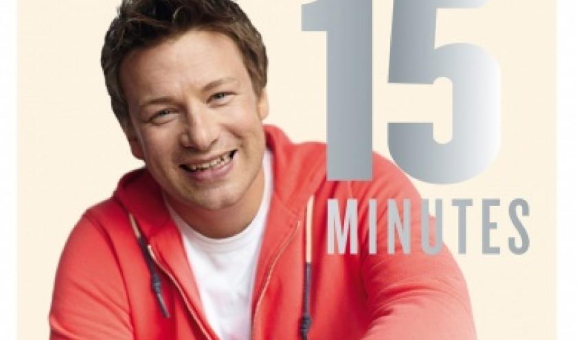 Jamie en 15 minutes de Jamie Oliver   Editions Hachette.
