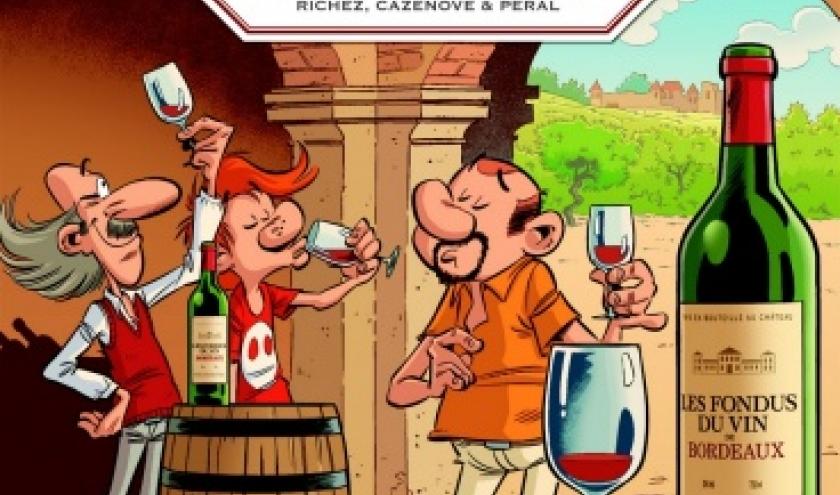 Les Fondus du vin de Bordeaux  Tome 1 et 2 de Cazenove, Richez et Peral  Editions Bamboo.