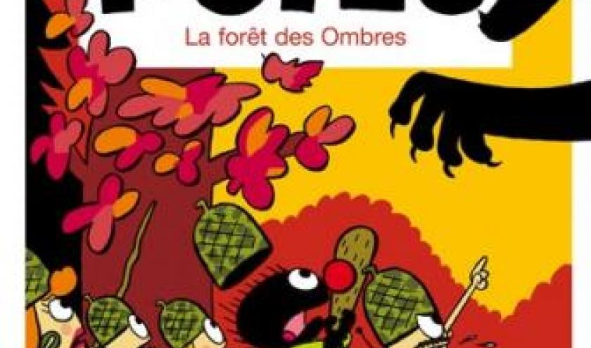 Petit Poilu (T8) - La forêt des Ombres, Bailly & Fraipont – Dupuis.