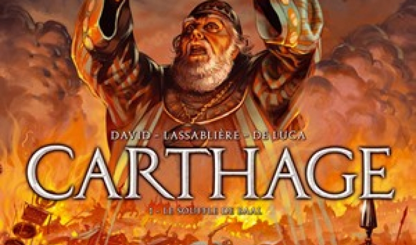 Carthage (T1) - Le souffle de Baal - David, Lassabli & De Luca - SoleilProd.