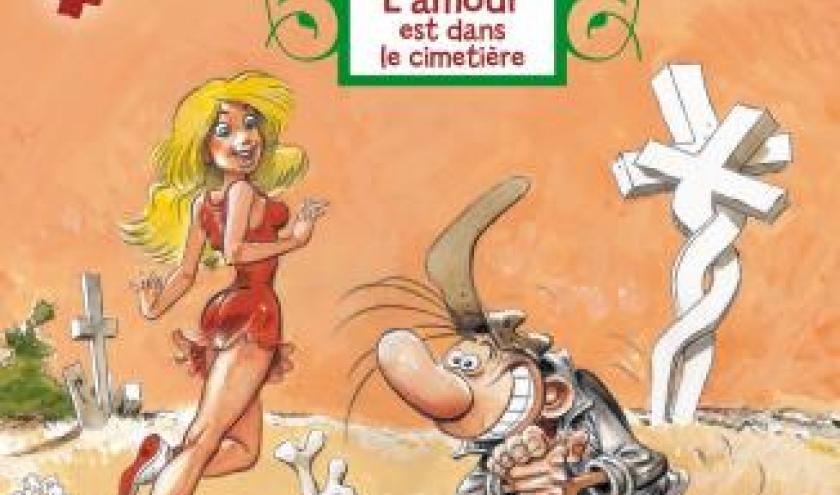 Pierre Tombal T28, L'amour est dans le cimetiere de Hardy et Cauvin  Dupuis