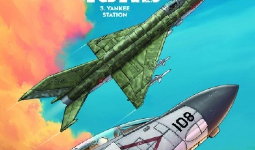 Bombroad Tome 3 Yankee Station de Michel Koeniguer  Editions Paquet.