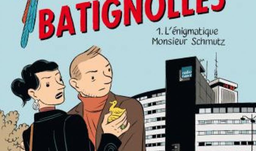 Le Perroquet des Batignolles (T1) - L'Enigmatique Monsieur Schmutz de M. Boujut, Tardi & Stanislas – Dargaud.