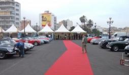 Casablanca : le parc des voitures et le village d'accueil