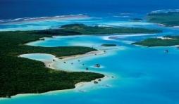 Vue aerienne de l Ile des Pins - (c) Nouvelle Caledonie Point Sud