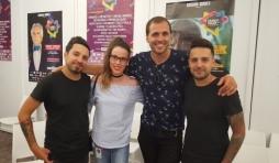 Greg, Amandine, Milann et Micka