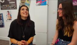 Lea Paci et Amandine Raths