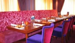 Le restaurant Purple Lounge