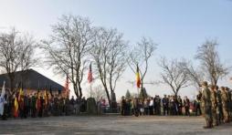 inauguration à Houmont de deux monuments