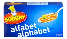 alfabet alphabet Soubry.