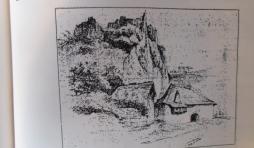 Au sommet du rocher, emplacement de l'ecole depuis des siecles.