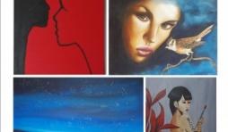 Exposition des peintres Marie-France Dardenne et Rocio Caballero à Cerfontaine