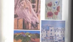 Exposition des peintres Isabelle Fagot et Stéphanie Moncomble à Cerfontaine