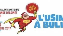 L'Usine à Bulles, 2ème édition du festival international de la bande dessinée et des arts numériques de Liège
