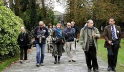 Des journalistes visitent le parc  Paradisio
