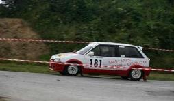 Philippe Henin au  rallye de la Famenne ce 24 Aout
