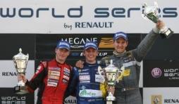 Eurocup Megane Trophy , Barcelona , Maxime Martin, podium final