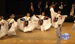 Grupo , Danza Folklorica Macuilxochitl, Ville de San Luis Potosi,fiesta Latina, Jambes-Namur,