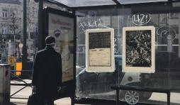 Biennale de l'Image Possible, BIP2020, Les 7 peches du capitalisme-Envie 44-100-xylographie-70x100-Jubilé affiché par-Laetitia -Bica