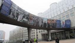 Esplanade du Parlement europeen : Espace Solidarnosc