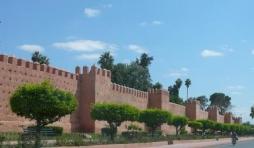 Les remparts de Marrakech ( 19 kms)