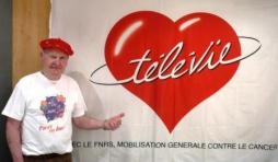 """Francis RION, ancien arbitre international, et responsable des """" Televie"""" malmediens"""