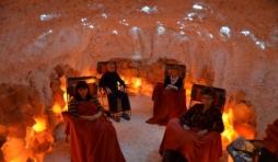 La grotte de sel